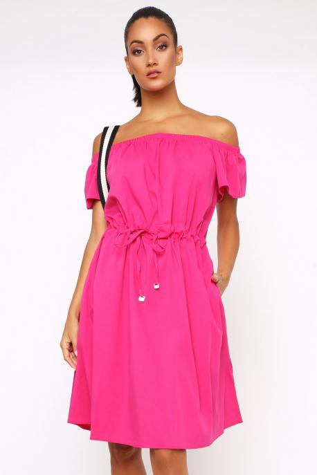 AMNESIA Dozina ruha rózsaszín