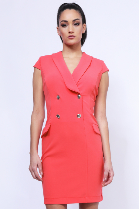 AMNESIA Juppy ruha rózsaszín