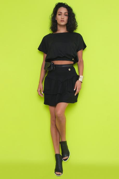 AMNESIA Jamendina szoknya fekete