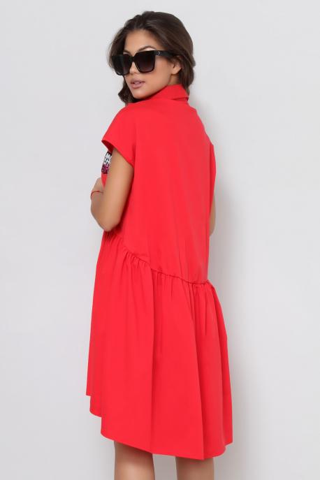 AMNESIA Azorena ruha piros