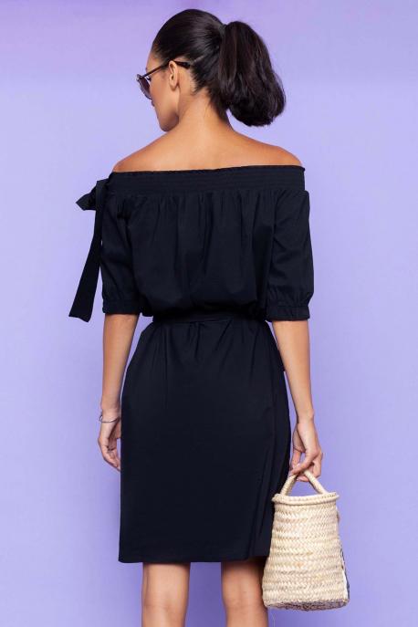 AMNESIA Jukatina ruha fekete