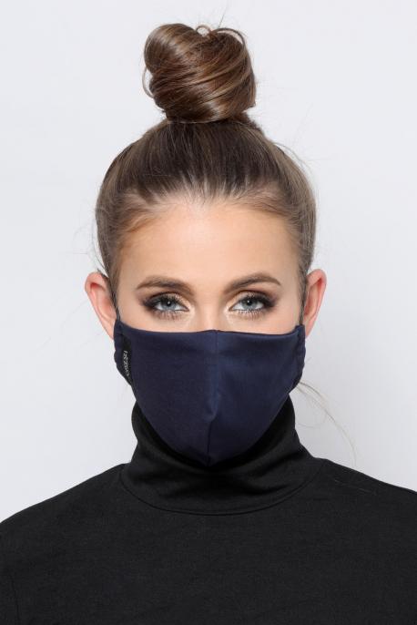 AMNESIA Nyakba akaszthatós maszk sötétkék