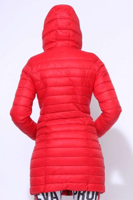 AMNESIA Színes zippes kabát