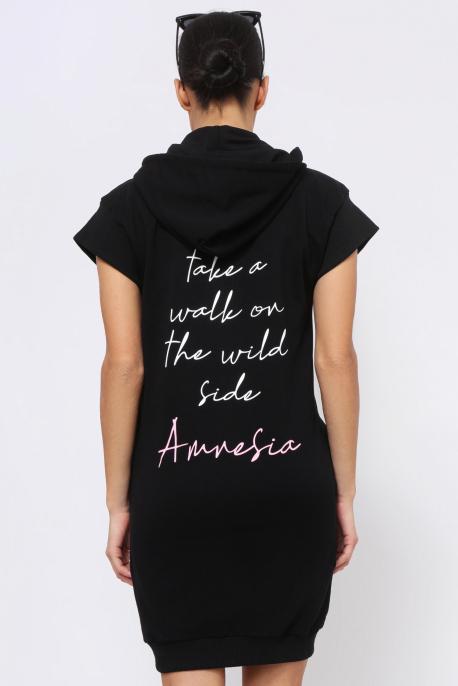 AMNESIA Jille tunika fekete