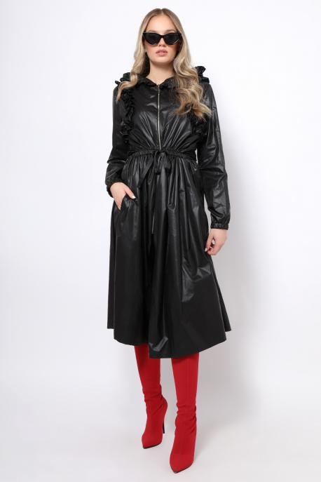 AMNESIA Jacalin kabát fekete
