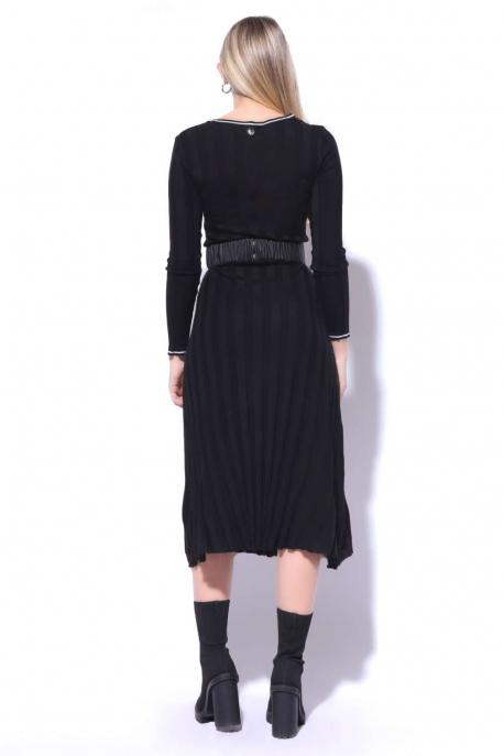 AMNESIA Vegyes hosszú ruha