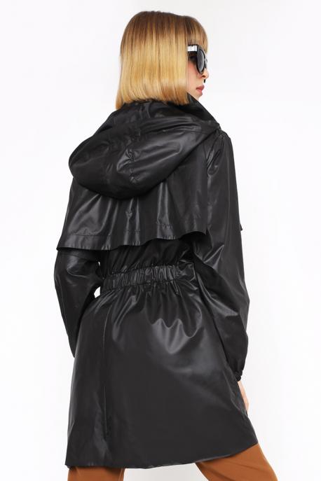 AMNESIA Taviori kabát fekete