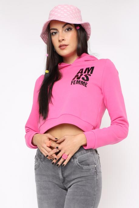 AMNESIA Darkla felső rózsaszín