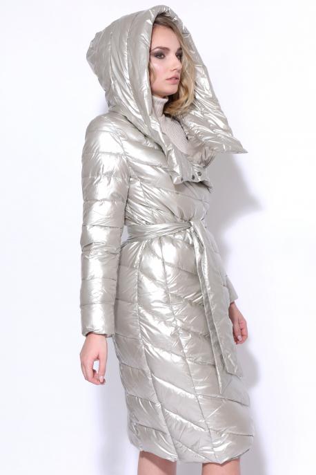 AMNESIA Ferde zippes hosszú kabát