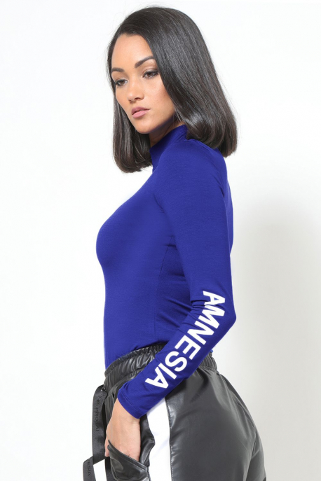 AMNESIA Doraine felső kék