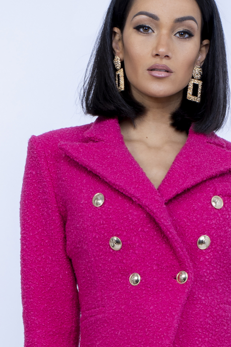 AMNESIA Ambrózia zakó+szoknya pink
