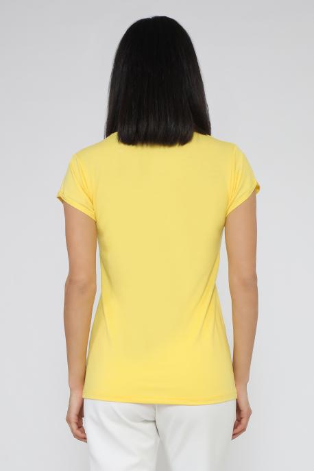 AMNESIA Poppy póló citromsárga