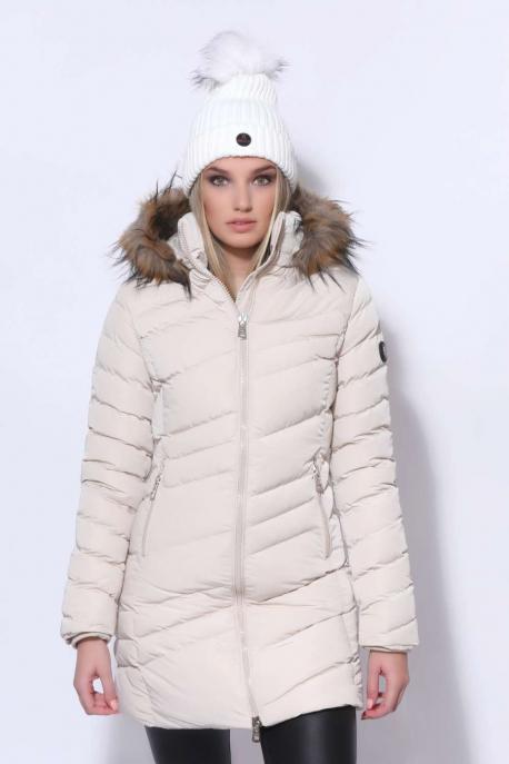 AMNESIA Ferdén steppelt kabát