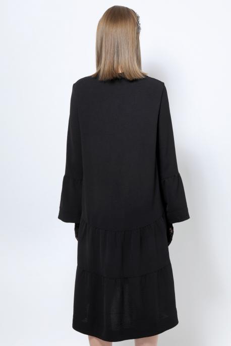 AMNESIA Jaden ruha fekete