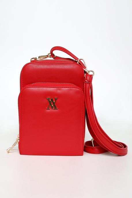 AMNESIA Mini táska piros