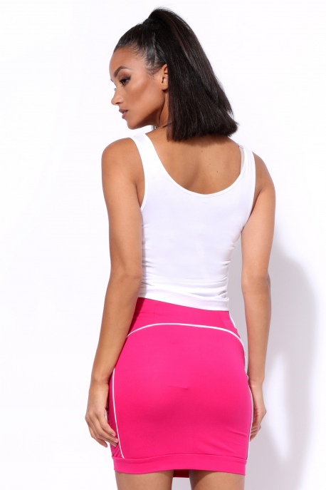 AMNESIA Billa szoknya rózsaszín
