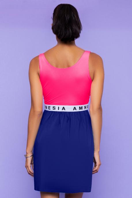 AMNESIA Jubilo ruha UV pink/sötétkék