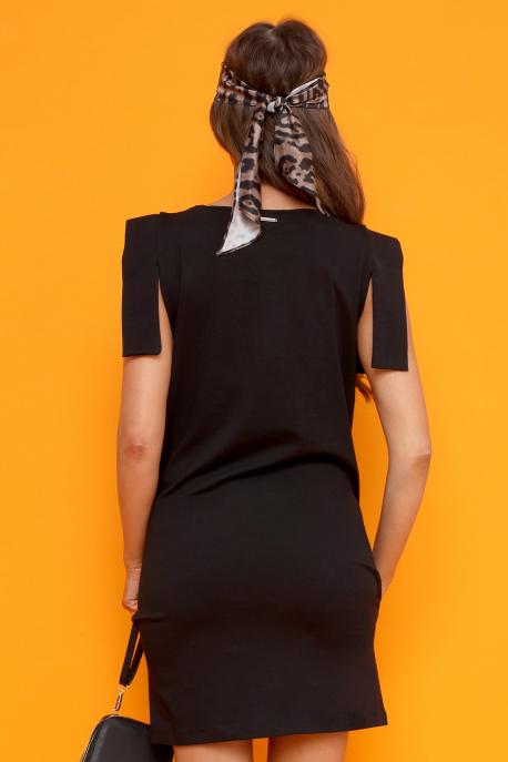 AMNESIA Dirola ruha fekete