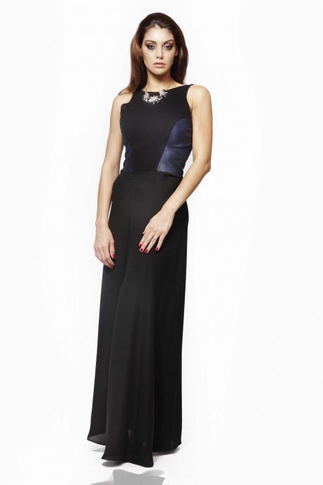 AMNESIA Fekete betétes ruha