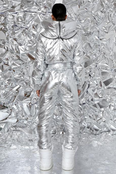 AMNESIA Aminta steppelt nadrág ezüst