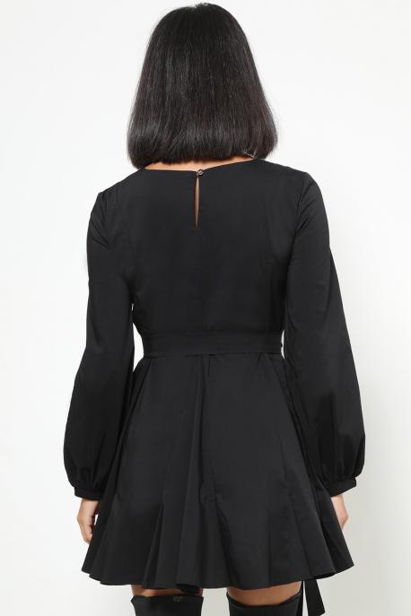 AMNESIA Jokko ruha fekete