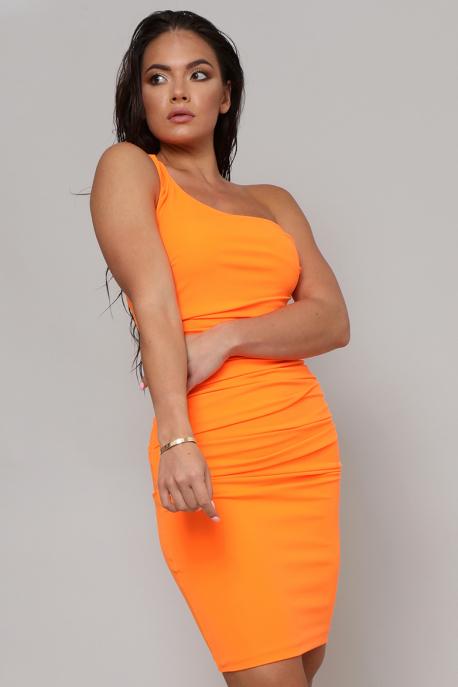AMNESIA Nirlon ruha UV narancs