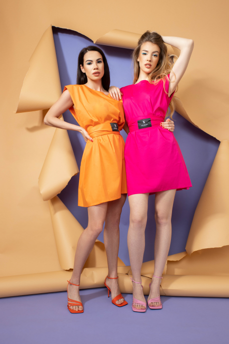 AMNESIA Line ruha pink