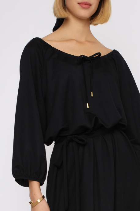 AMNESIA Tirda ruha fekete