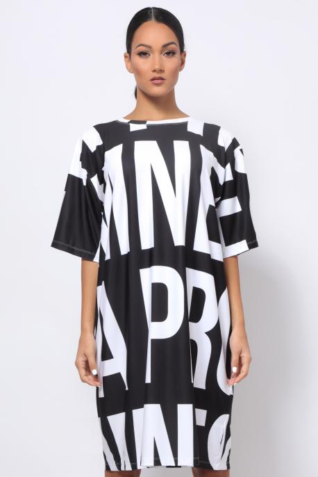 AMNESIA Alona ruha fekete