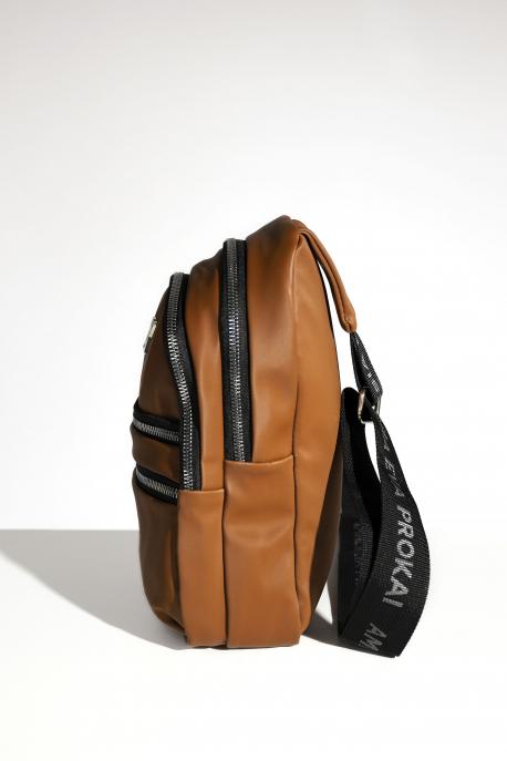 AMNESIA Kis hátizsák barna