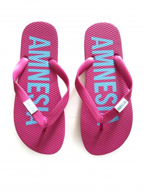 AMNESIA Papucs Pink/Világoskék
