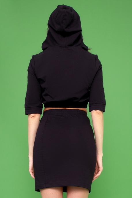 AMNESIA Dondi szoknya fekete