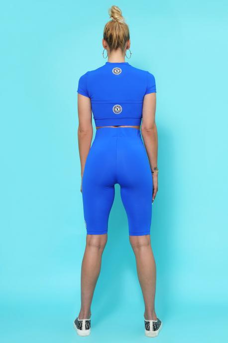 AMNESIA Demdem top kék