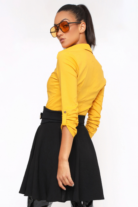 AMNESIA Musana szoknya fekete