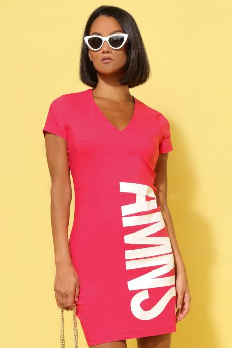 AMNESIA Arena ruha rózsaszín