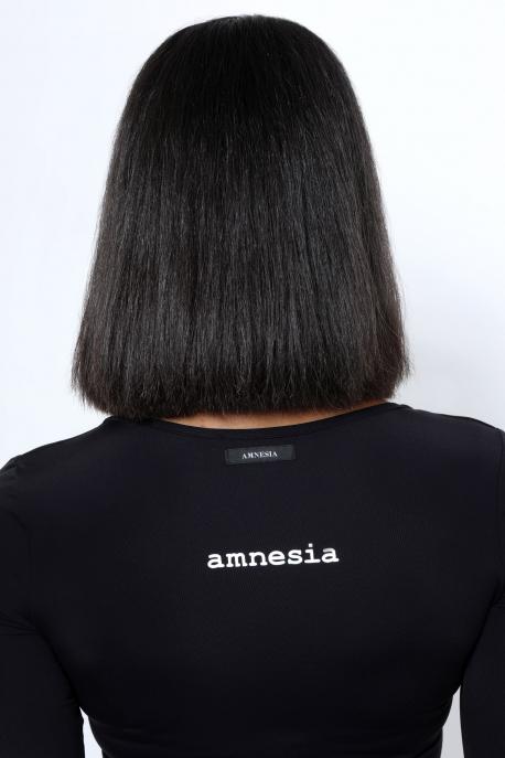 AMNESIA Direna B felső fekete