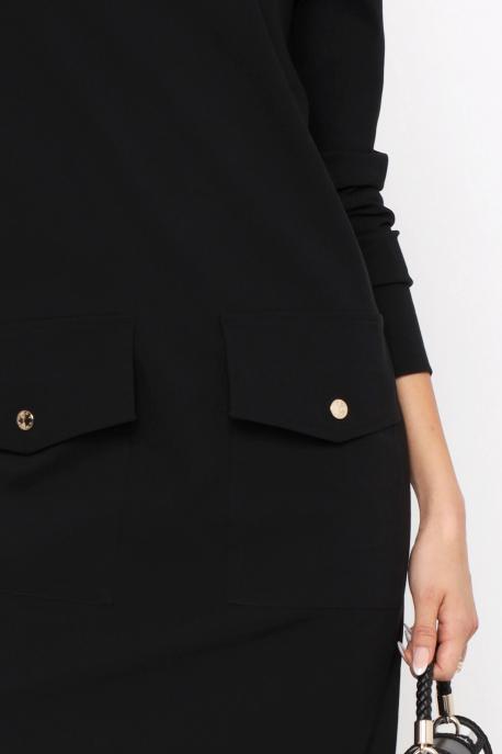 AMNESIA Jelka ruha fekete