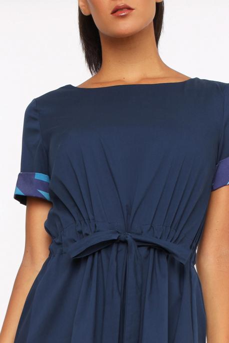 AMNESIA Dalmata ruha kék