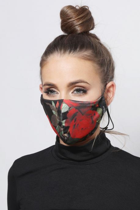 AMNESIA Nyakba akaszthatós maszk rózsás