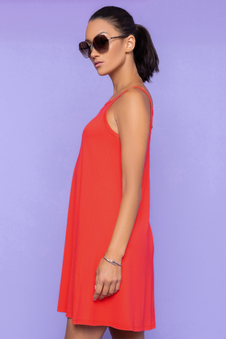 AMNESIA Bikiron ruha piros
