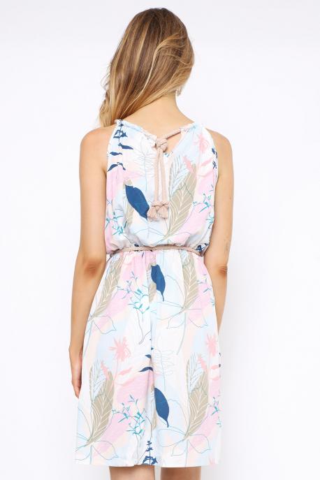 AMNESIA Jominda ruha színes virágos