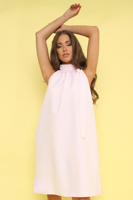 AMNESIA Lison ruha babarózsaszín