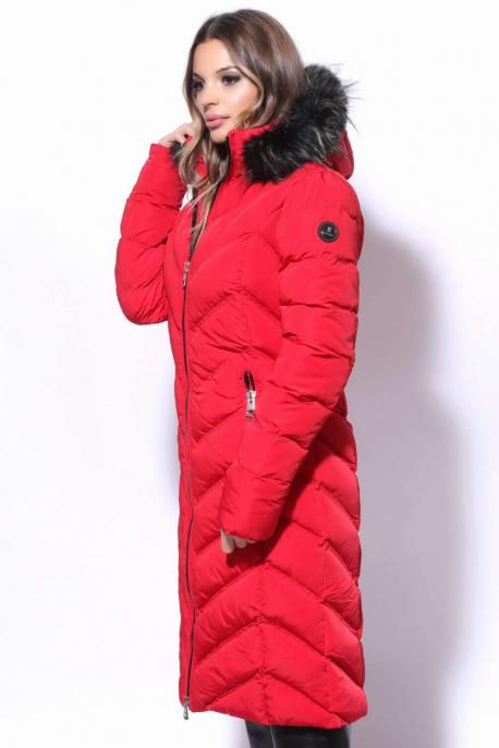 AMNESIA V steppelt hosszú kabát