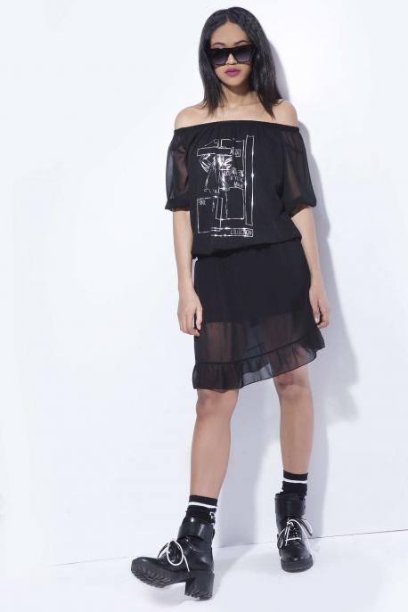 AMNESIA Malon muszlin ruha