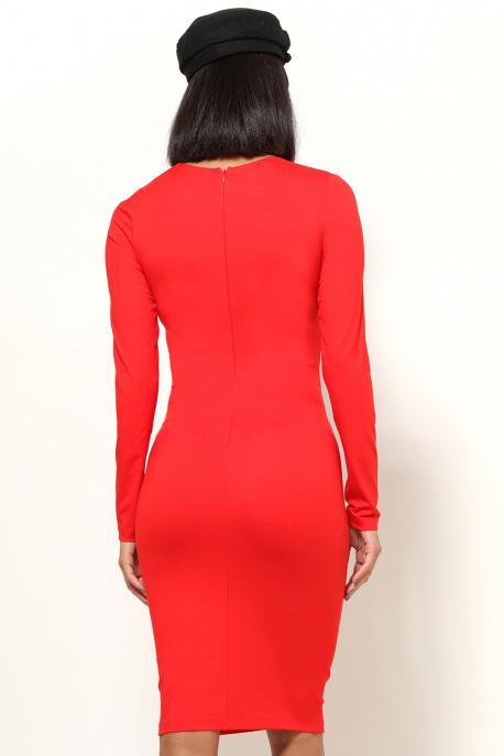 AMNESIA Sziszka ruha piros