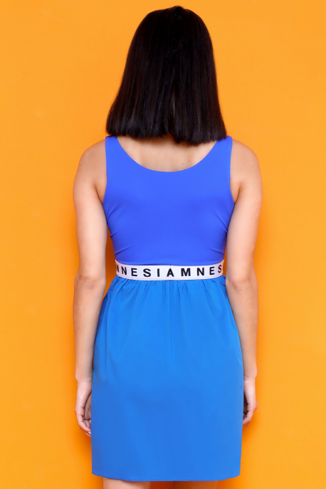 AMNESIA Jubilo ruha kék