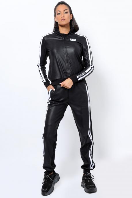 AMNESIA Daly jogging fekete