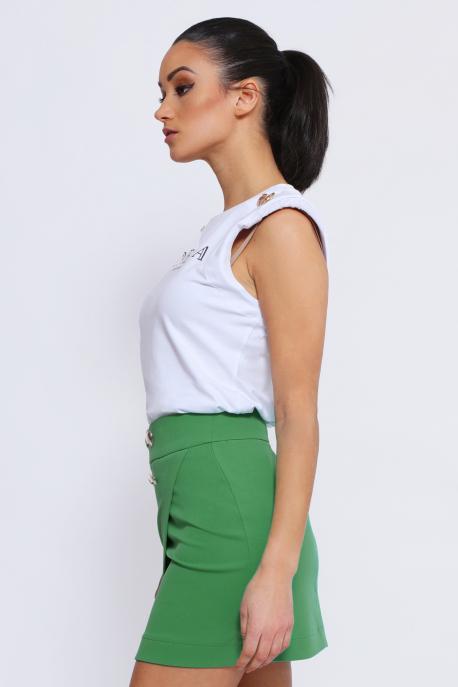 AMNESIA Jenola szoknya zöld