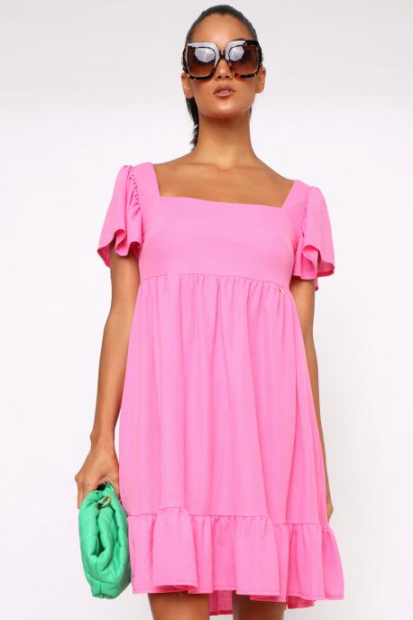 AMNESIA Taverna ruha rózsaszín