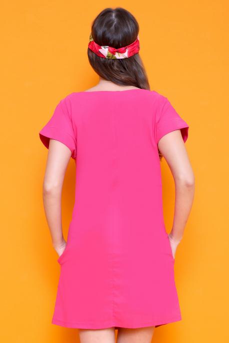 AMNESIA Demto tunika pink